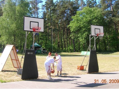 Basketbola grozi